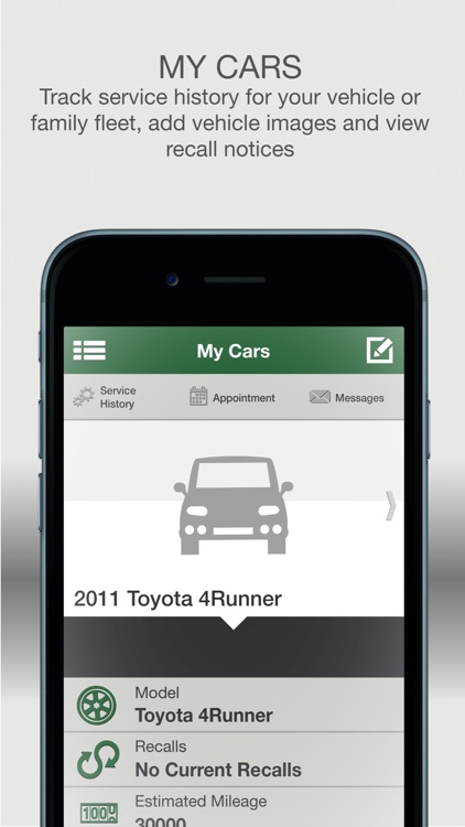 Green'S Toyota Service >> My Green S Toyota Of Lexington By Dmeautomotive