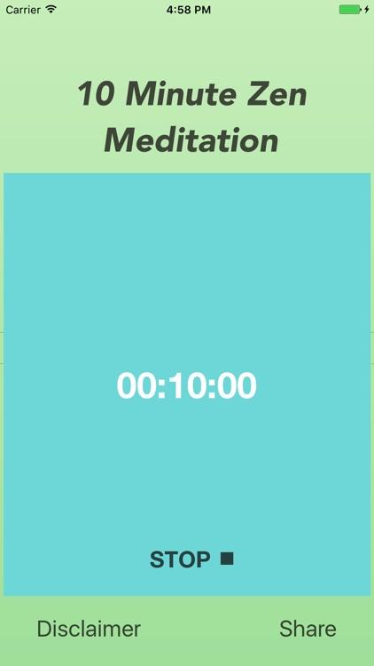 10 Minute Zen Meditation Free