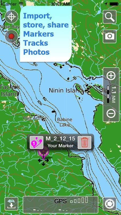Aqua Map Br. Columbia Lakes HD screenshot-3