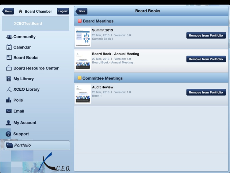 BoardPortal PLUS® On Site screenshot-3