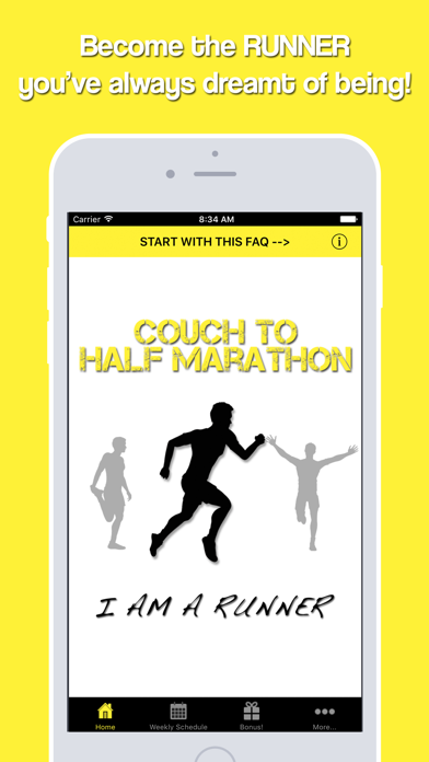 Couch to Half Marathonのおすすめ画像1