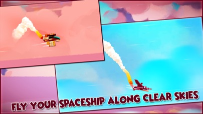 Sky Cruise Spaceship flying screenshot one