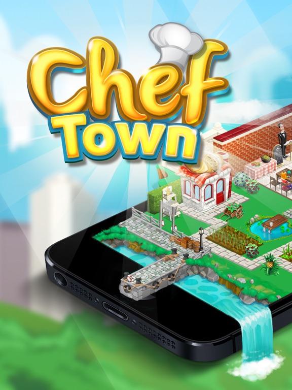 Кулинарный город на iPad