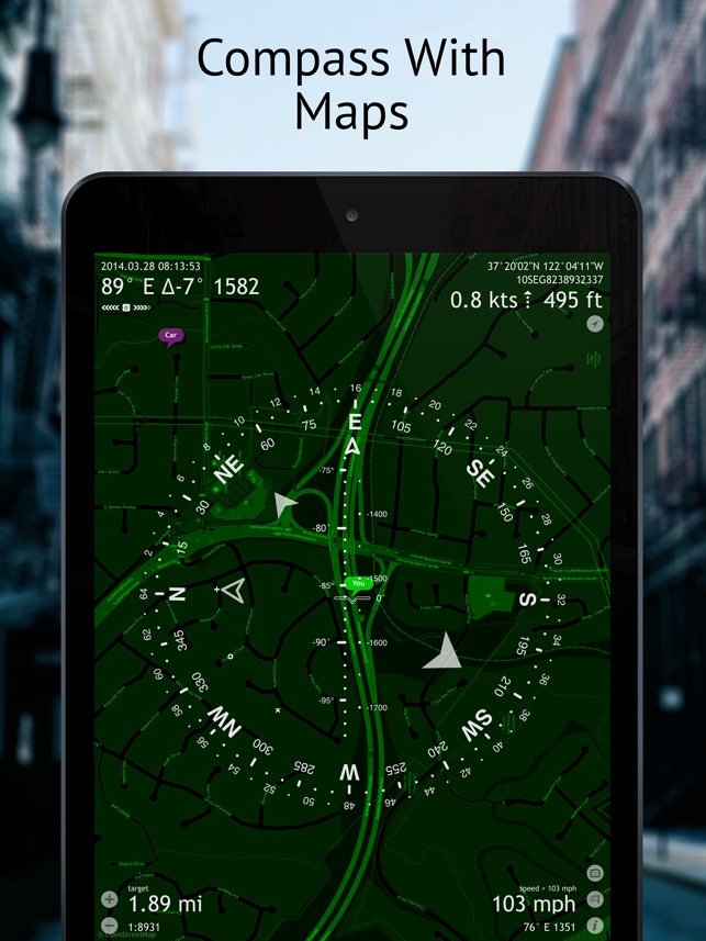 Commander Compass Go on the App Store