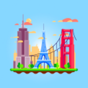 Pixel Poly Art Number Coloring