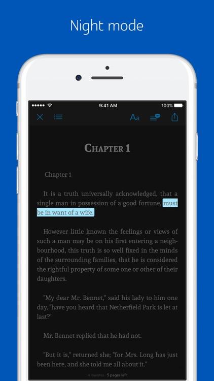 Jane Austen's novels - sync transcript, audio screenshot-3