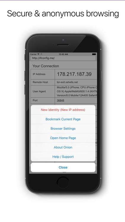 Onion - Private & secure web