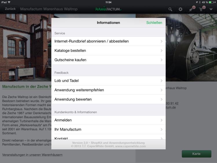 Manufactum screenshot-4