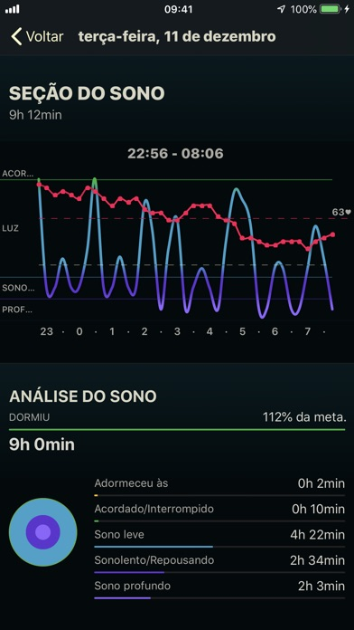 Screenshot for AutoSleep. Monitore seu sono. in Brazil App Store