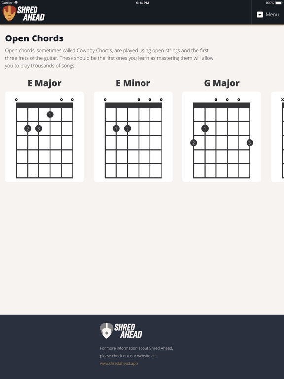 Guitar Chords by Shred Ahead | App Price Drops