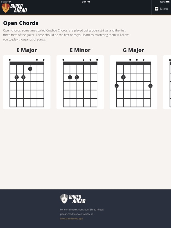 Guitar Chords By Shred Ahead App Price Drops