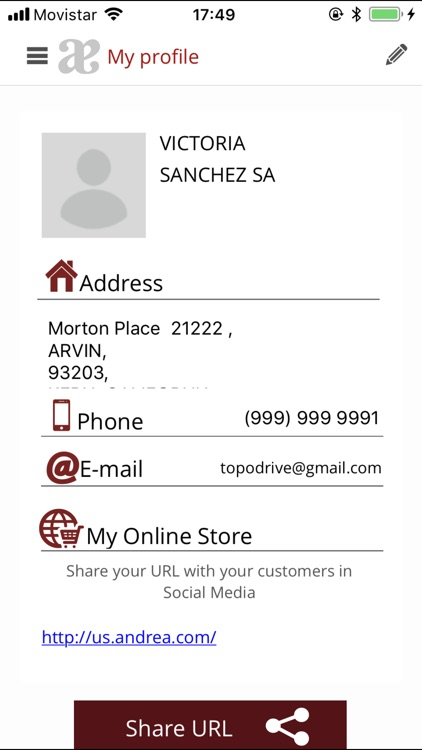 Andrea Mobile screenshot-3