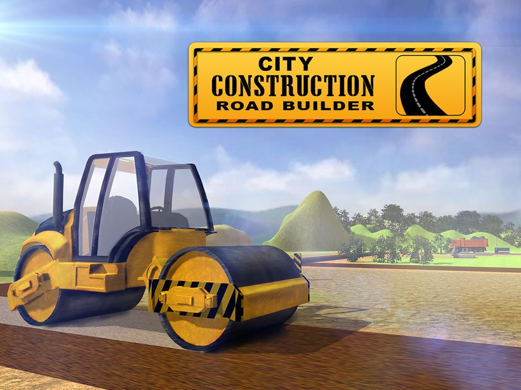 Road Builder Construction City 3D – Real Excavator Crane and