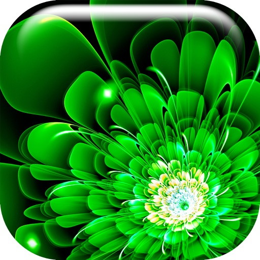 Neon Flower Wallpaper.s Collection – Glow.ing Background and Custom Lock Screen Themes