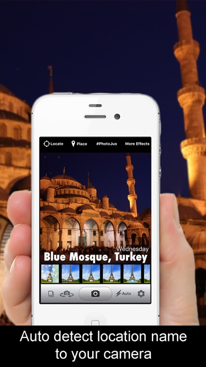 Place and Beautiful Travel Postcards - location based photo app screenshot-0