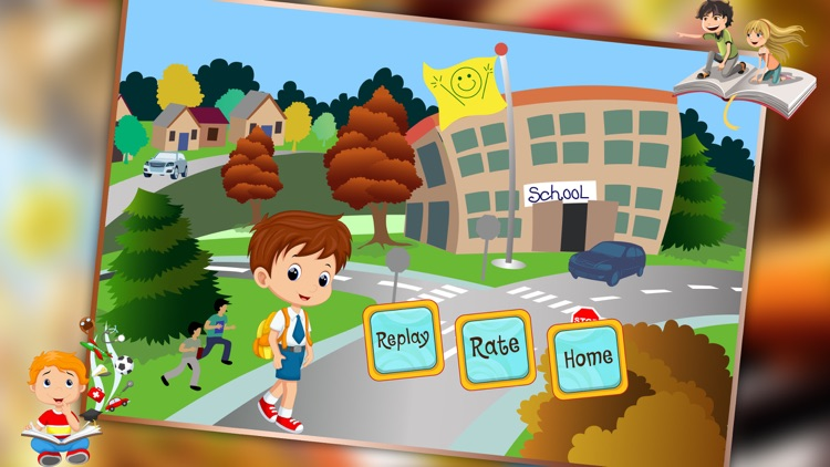 Supermarket Boy School Shopping - Learn to buy uniform, lunchbox & shoes in crazy Super market screenshot-4