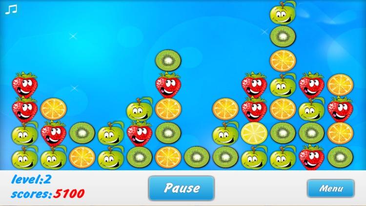 Fruit Block Match 3 Puzzle