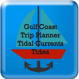 Gulf Coast Trip Planner using Tidal Currents + Tides