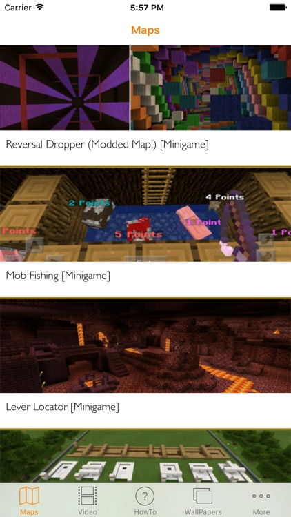 Minigame Maps for Minecraft PE - Download Best Maps for Minecraft Pocket  Edition by GGFeed