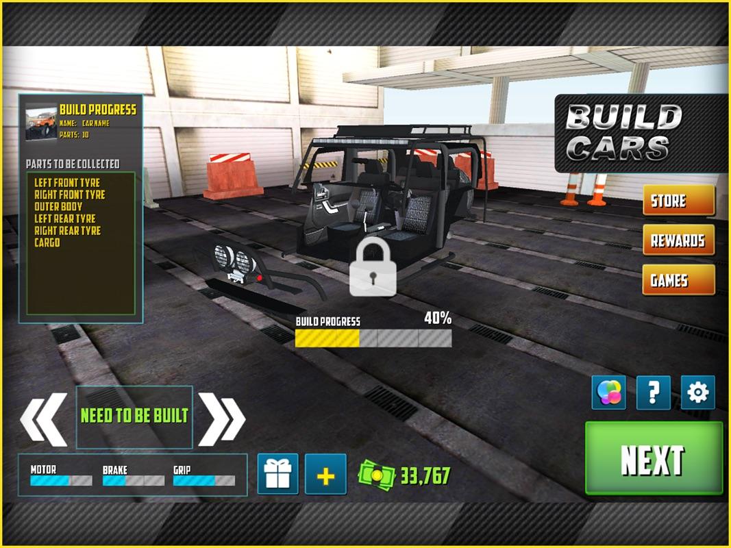 Build A Car Game >> Offroad 4x4 Driving Simulator 3d Multi Level Offroad Car