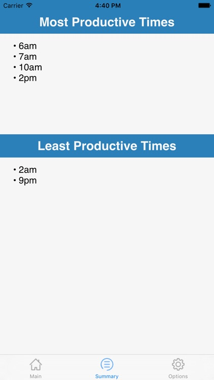 Productivity Tracker - When Do You Work Best?