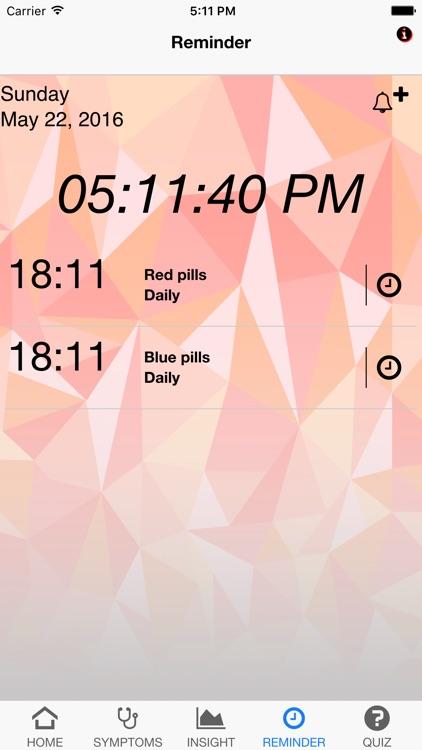 Signs & Symptoms Diabetes screenshot-3