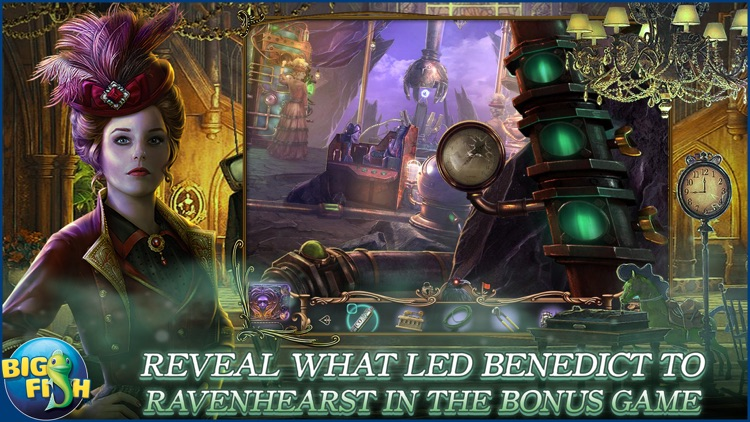Mystery Case Files: Key To Ravenhearst - A Mystery Hidden Object Game (Full) screenshot-3