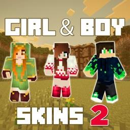 New Girl & Boy Skins 2 for Minecraft Pocket Edition