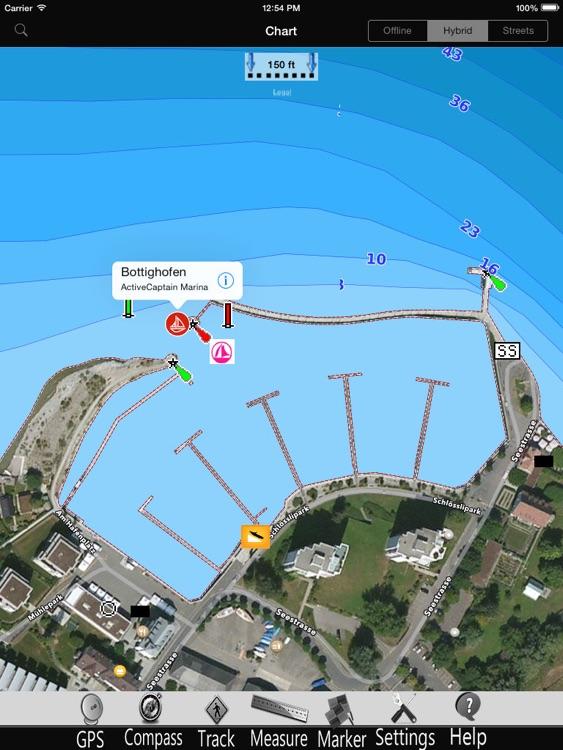 Bavaria Lakes GPS Charts Pro