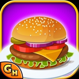 Burger Maker-Free Fast Food Cooking and Restaurant Manager Game for Kids,Boys & Girls