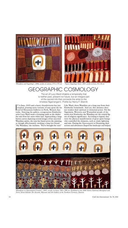 Craft Arts International Magazine – Contemporary, Visual and Applied Arts screenshot-3