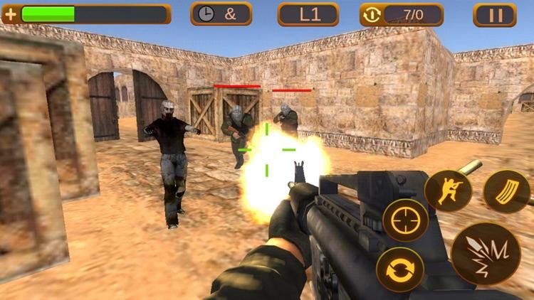 Critical Shooter:Multiplayer sniper gun shooting games