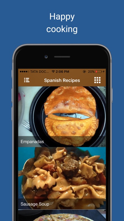 Appetizer food cooking Videos: Spanish pie recipes screenshot-3