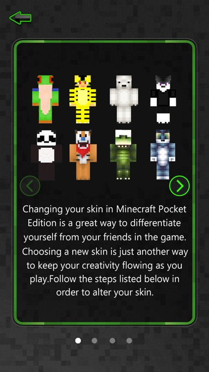 Animal Skin.s Creator for PE Pro - Pixel Texture Simulator & Exporter for Mine.craft Pocket Edition Lite