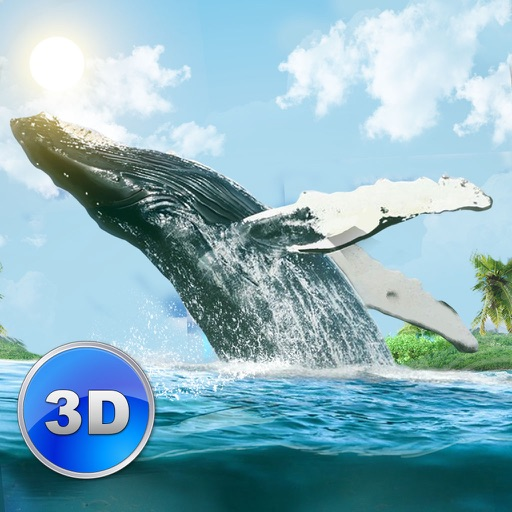Big Blue Whale Survival 3D Full - Try whale simulator, be ocean animal!