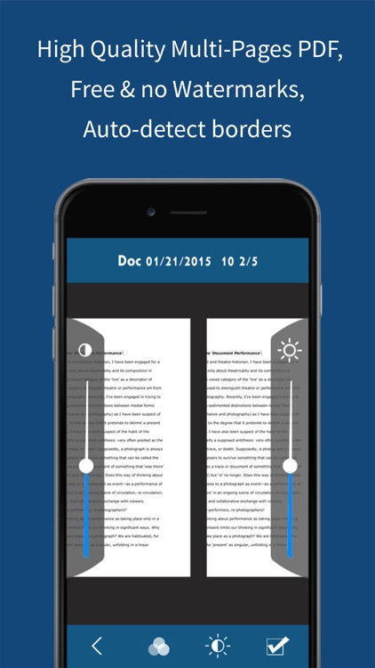 Scan & Organize - Multi Page Document PDF Scanner