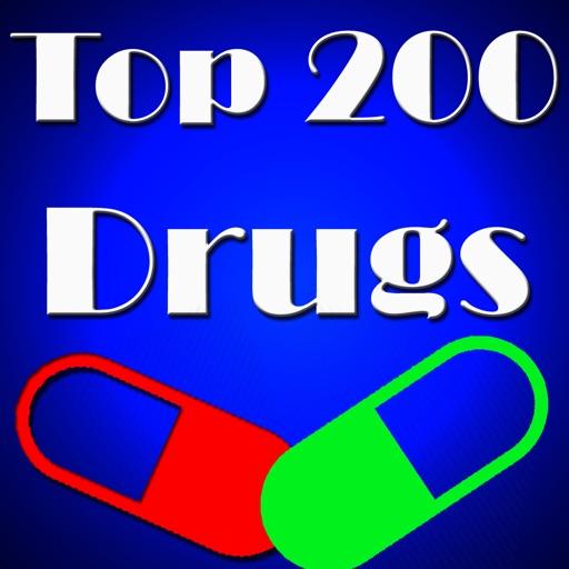 top 200 drugs app