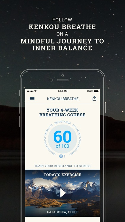 Breathe Pro: Professional breathing course screenshot-0