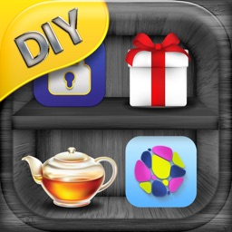 DIY Shelf Wallpaper Themes – Personalize Home Screen with Shelves for Icons and Sticker.s