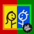 Duel de peinture au doigt - jouer ensemble de manière créative avec FoldApps™ icon