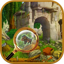 Hidden Object: Jungle - find hidden objects and spot the difference to solve puzzles while searching for missing objects