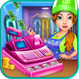 Tailor Boutique Cash Register & Shopping Girl - top free time management grocery shop games for girls