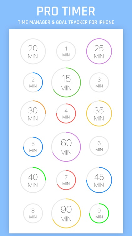 Pro Timer - Time Manager & Goal Tracker