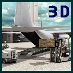 Transport Truck Cargo Plane 3D