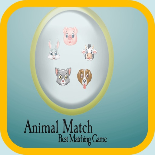 animals card match - Fun Animal Match Game For Kids iOS App