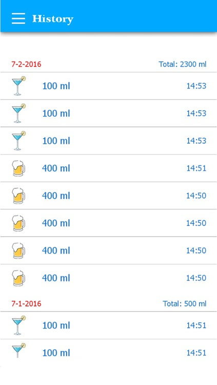 Water Drink Tracker (H2O) screenshot-3