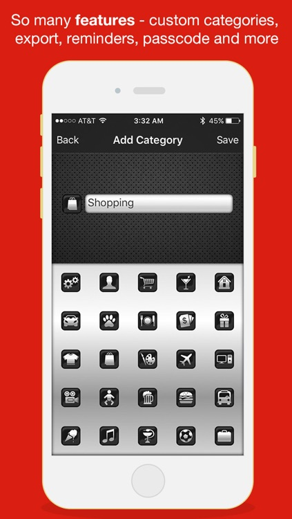 Budget Saved - Personal Finance and Money Management Mobile Bank Account Saving App screenshot-4