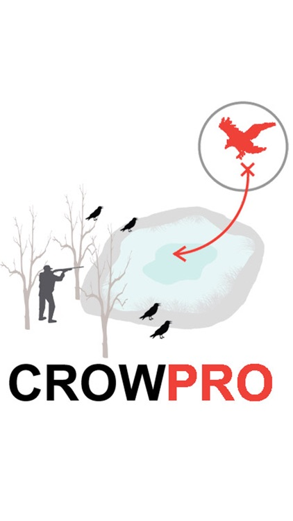 Crow Hunt Planner for Crow Hunting - AD FREE CROWPRO screenshot-0