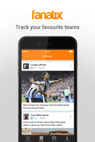 fanatix - Sports Video News screenshot 4