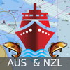 i-Boating:Australia & New Zealand - Gps Marine/Nautical Charts & Navigation Maps